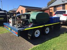 High pressure and bulk wash trailer Dudley Lake Macquarie Area Preview