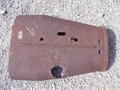 Farmall F20 Tractor Original Ih Front Hood Cover Panel Over Engine Clip