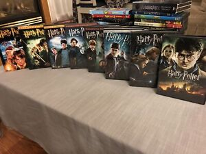 Harry Potter film collection on DVD