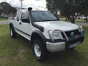 2005 Holden Rodeo LX 4x4 Ute ONLY 134,000KLMS!! 5-SPEED MANUAL!! East Rockingham Rockingham Area Preview