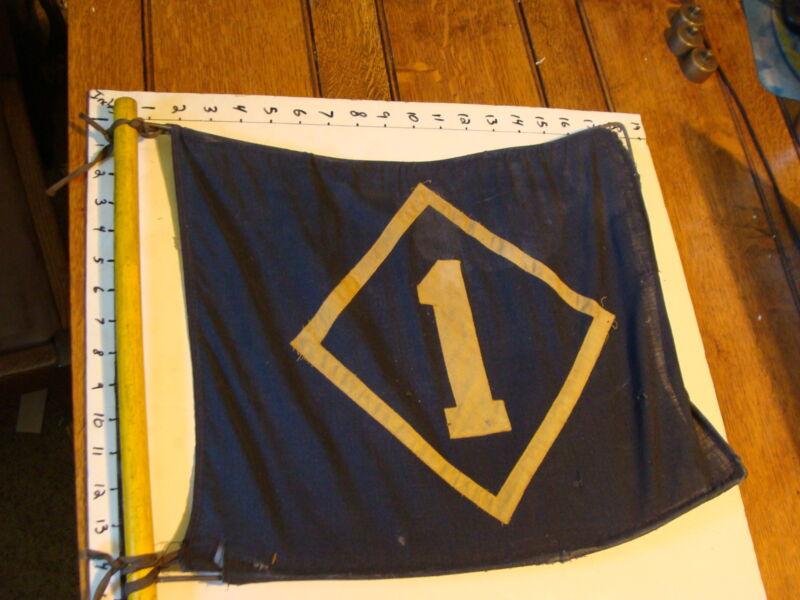 original BLUE & YELLOW -----BOY OR CUB SCOUT------FLAG #1 STIFF