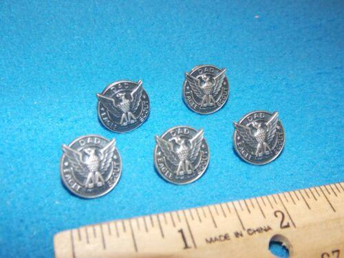 VINTAGE - LOT OF 5 - BSA Eagle Scout DAD Lapel Pins