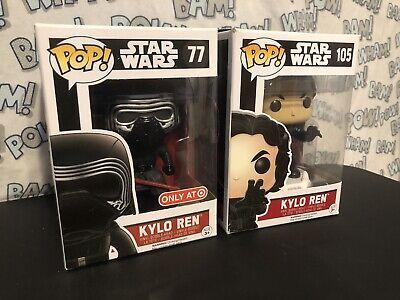 Funko Pop Star Wars Kylo Ren Lot Target Exclusive 105 77