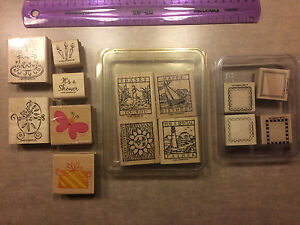 Stampin Up! Collection of stamps