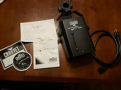 Chauvet DJ Gobo LED 2.0 Zoom Light W/ Cable, Manual, Stickers and Clamp NICE
