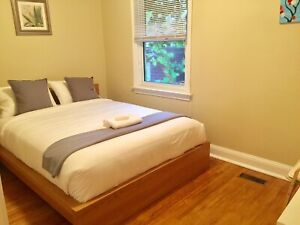 Garden view room. Free Parking. Near Bus stop