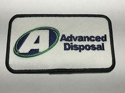 Advanced Disposal Trash Garbage Collection Recycling Company A Logo Patch C