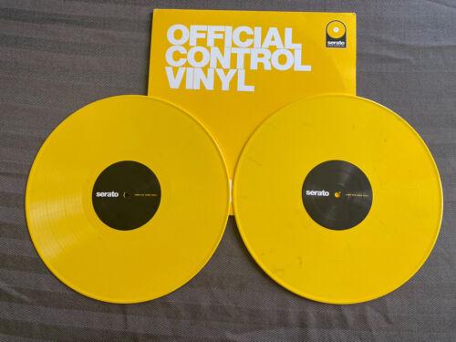 Serato Control Vinyl Performance Yellow Freaks  - $40.00
