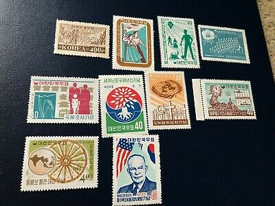 KOREA STAMPS COLLECTION  C542