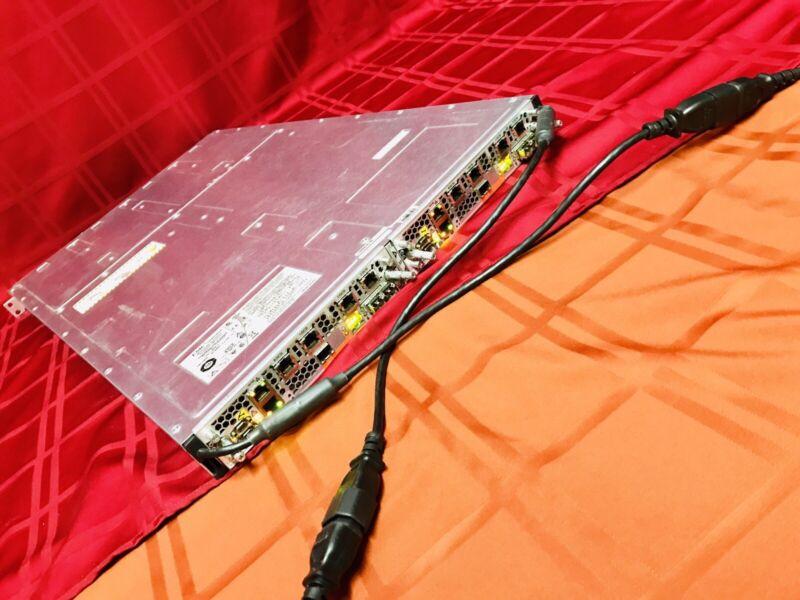 EMC CX3-20C-DE JPE-I iSCSI Network SAN Storage Controller 2x Module 4x Power