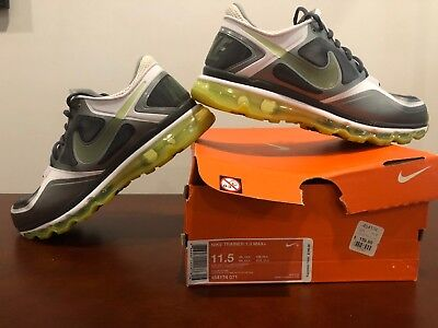 c6d26f7b43 Nike Trainer 1.3 Max+ Grey/Volt/Silver/white Mens 11.5 Used With Box *RARE*