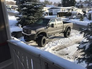 Lifted 2005 f350 powerstroke