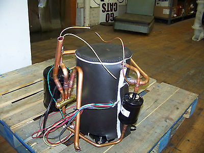 Emerson Copeland Scroll Compressor 208-230 V 1 Phase 60 Hz 410a Zp14k6e-pfv-130
