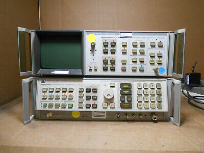 Hp 8566b Spectrum Analyzer 100hz-2.5 Ghz 2-22ghz With Analyzer Display
