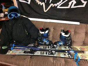 Full set of ski supplies $400