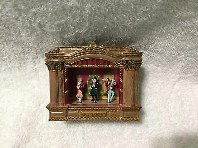 ULTRA RARE Mr. Christmas Mini Nutcracker Suite Moving Ballet Stage Music -