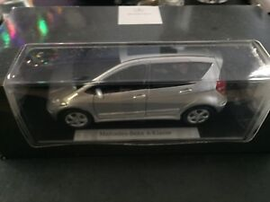 Rare BNIB 1:18 Mercedes A-Class Metal Collector Car