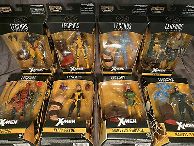 Marvel Legends X-men Baf Juggernaut Complete Set