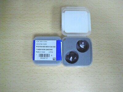 Ick 0748 Ic908 Iscar Drill Tip Insert 2pcs