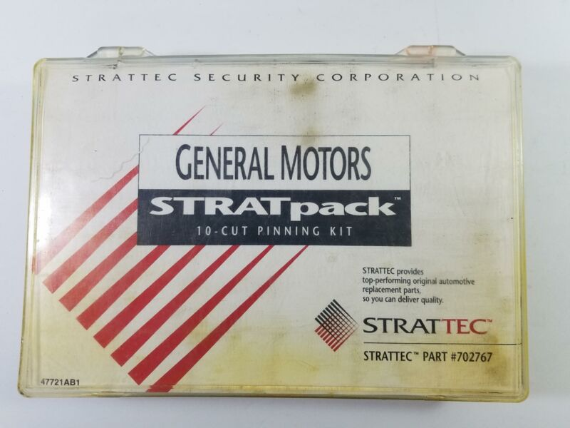 GM Strattec 702767 Stratpack 10-Cut Pinning Kit Pin Kit General Motors