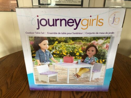 Journey Girls outdoor table set brand new in box 2015
