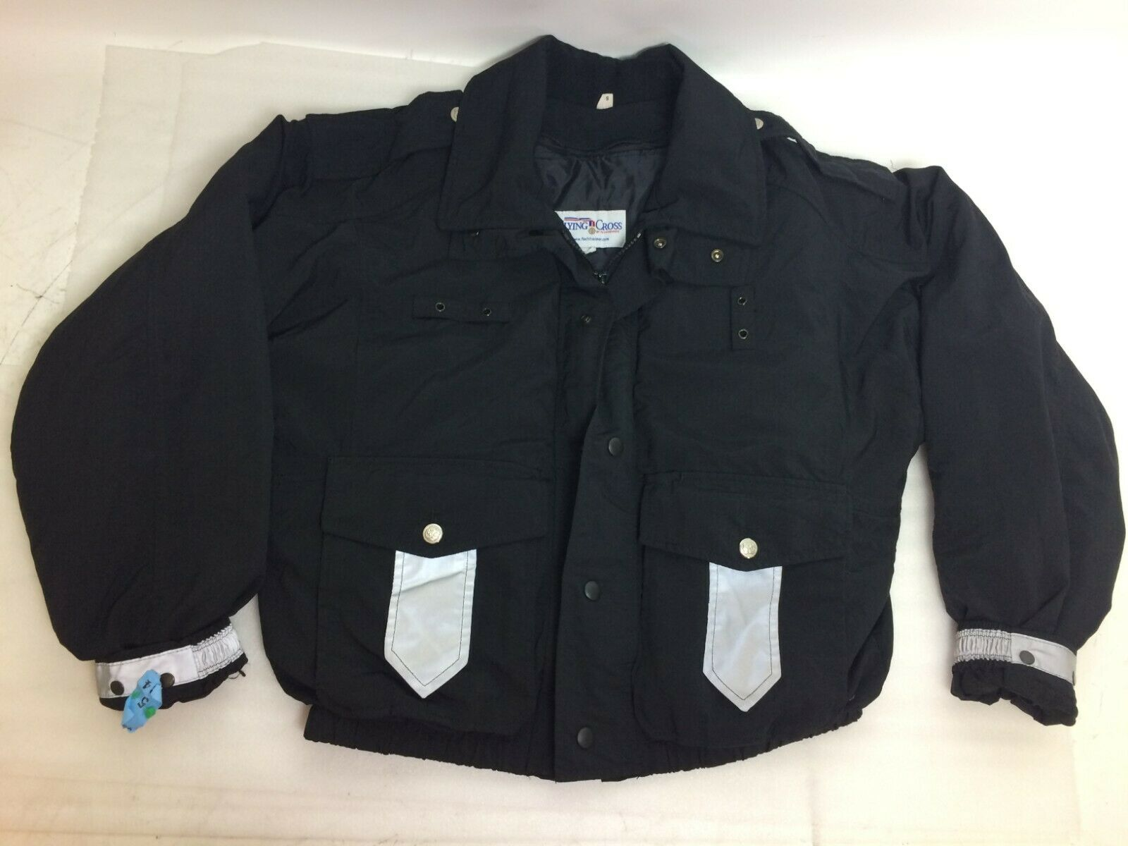 Flying Cross Gore-Tex Black Duty Coat WITHOUT Liner, Size Small Short S-S