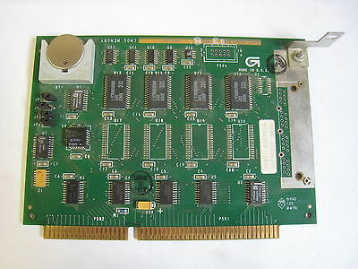 Gilbarco Marconi T19140-g3 G-site Gas Pump Cmos Isa Memory Board Free Shipping