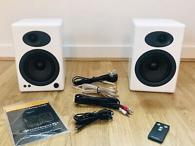 Audioengine A5+ Gloss White Wired Speakers