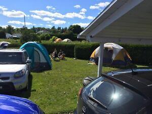 Camping Rockfest, parking inclu.