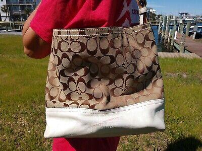 Coach handbags used large auction