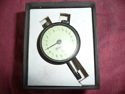 "Dial Indicator 2-1//4/"" Dial 0-100 Brand New Baker Gauges 1/"" Travel .001"