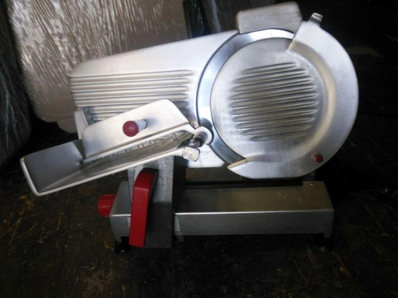 """Fleetwood deli Meat Slicer Commercial 12""""blade And Sharpener"""