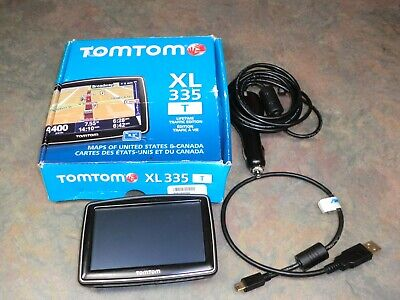 TomTom XL 335T - US & Canada Automotive Mountable GPS Lifetime Traffic Edition