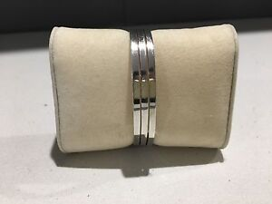 925 Stirling Silver 3 Row Cuff Bangle Seaham Port Stephens Area Preview