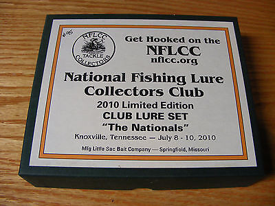 2010 Nationals NFLCC Club 3 Lure Set made by Little Sac Bait Co