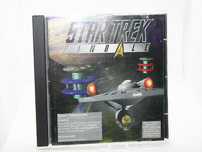 ✔️📀 RETRO STAR TREK PINBALL 1997 PC GAME UK SELLER
