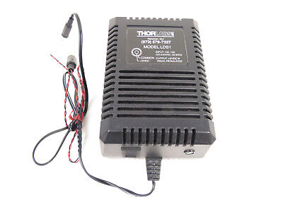 Thorlabs Lds1 5vdc Power Supply 2.5mm Phono Plug - Fast Free Shipping