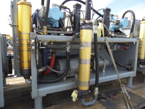 MTS Hydraulic Power Unit 125hp, duel, mod.506.18C, 3000 psi, 207 bar