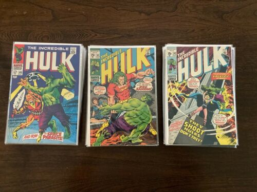 INCREDIBLE HULK 103-158  VARIOUS COPIES PICK  MOST COPIES VF OR BETTER