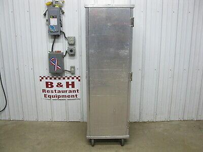Win Holt Aluminum Enclosed Bakery Sheet Pan Holding Cabinet Door