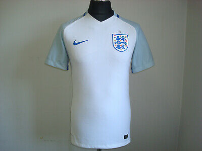 ENGLAND National HOME 2016-2018 Player ISSUE NIKE S FOOTBALL SHIRT Jersey Soccer image
