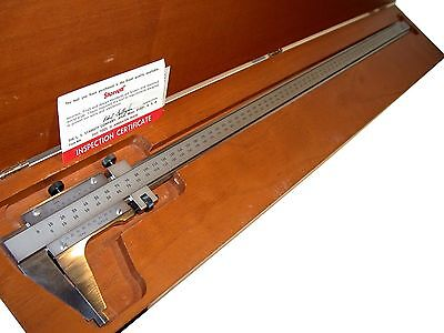 Starrett 600mm .02mm Vernier Calipers 123mz-600