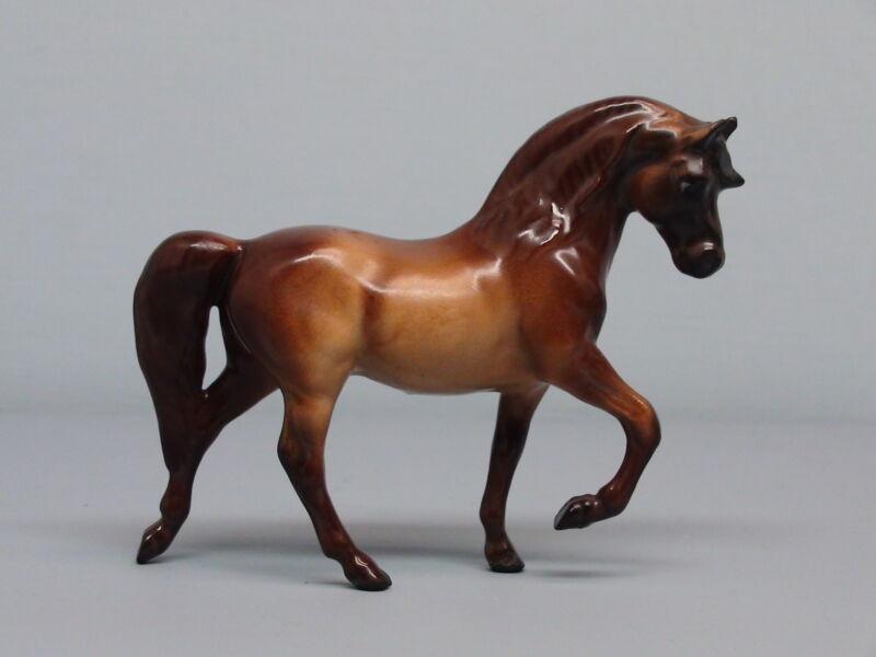 Old Monrovia Hagen Renaker Chestnut Morgan Stallion