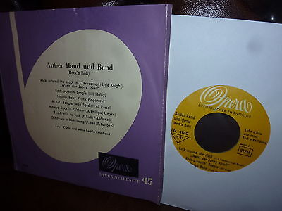 """Lubo d'Orio & Rock'n Roll-Band, Ausser Rand und Band, Opera 50er EP 7"""" VERY RARE"""