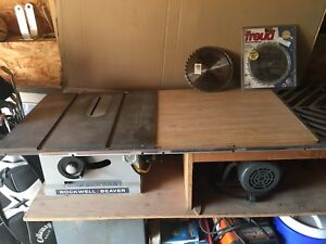 Rockwell Beaver Table Saw With Fence