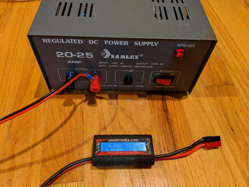 12V DC Power Supply - 20A continuous output - Samlex RPS1220