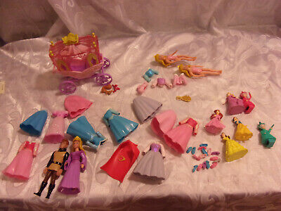 Disney Polly Picket Dolls Carriage 5