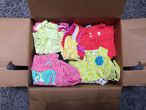 Girls 3 mos and 3-6 mos spring-summer clothing