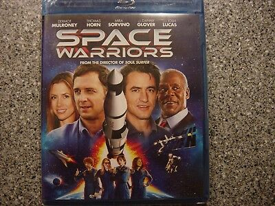 Space Warriors  2013  Blu Ray Dermot Mulroney Mira Sorvino Danny Glover Sealed