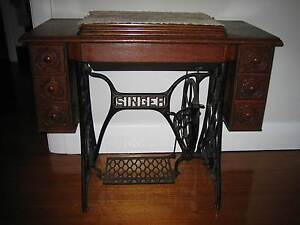 Antique Singer Sewing Machine Mornington Mornington Peninsula Preview